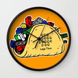 Lego Taco Wall Clock