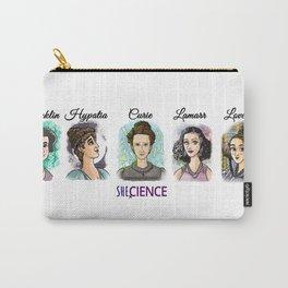 Shecience Franklin Hypatia Curie Lamarr Lovelace Carry-All Pouch