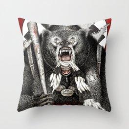 Inglourious Basterds (Quentin Tarantino) The Bear Jew Throw Pillow