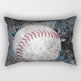 Baseball print work vs 1 Rectangular Pillow
