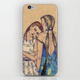 GIRLS IN DRESSES iPhone Skin