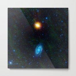 Cosmic Star Galaxy Metal Print