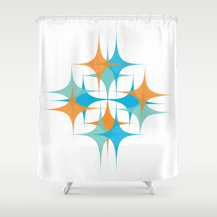Sparkle Shower Curtain By Amylouwho