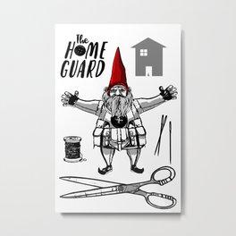 HOME GUARD Metal Print