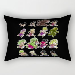 Evolutions of Broly Rectangular Pillow