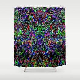 Rainbows in the Dark Shower Curtain
