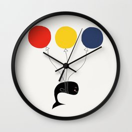 Fly High, Mr. Whale, Fly High! Wall Clock