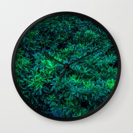 Odaiba Overgrowth Wall Clock