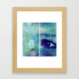 The Glaring Sea Framed Art Print