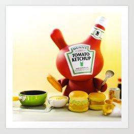 Ketchup Art Print