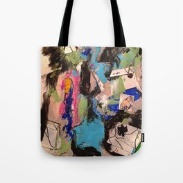 Small Faces Tote Bag
