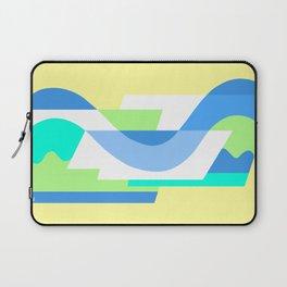 SUISSE - Art Deco Modern: FRESH WATER & SUNSHINE Laptop Sleeve