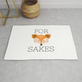 For Fox Sakes Rug