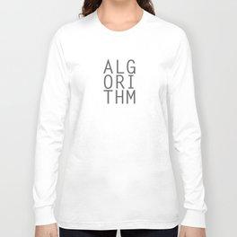 Algorithm Long Sleeve T-shirt