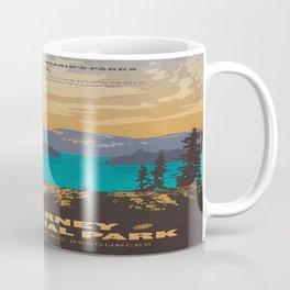 Vintage poster - Killarney Provincal Park, Canada Coffee Mug