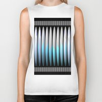 cup Biker Tanks featuring CUP by john jewell