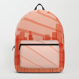 City Abstract Background Backpack