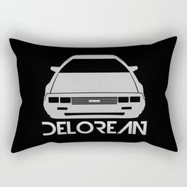 DeLorean DMC–12 - silver - Rectangular Pillow