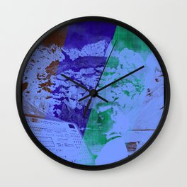 Workin' For The Weekend Wall Clock