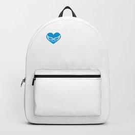 I Heart Humpback Whales   Love Humpback Whales Backpack