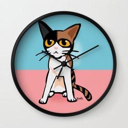 Cute my cat Wall Clock