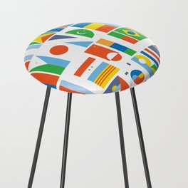 What A Wonderful World II Counter Stool