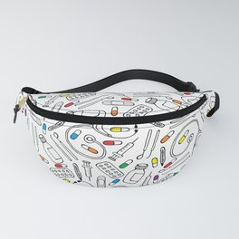Hospital Pattern Fanny Pack
