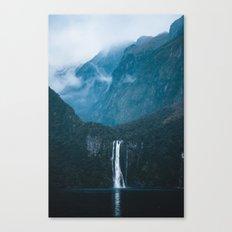 Majestic Milford Sound Canvas Print