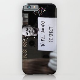 Michael Myers in Love Actually iPhone Case