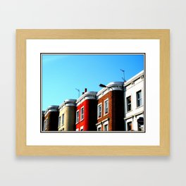 Lavender Hill Framed Art Print