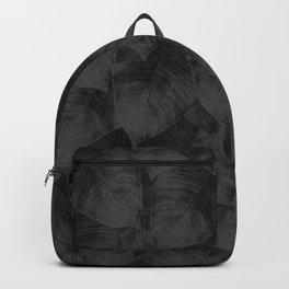 Banana Leaf Black & White I Backpack