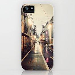 Shinjuku Shine iPhone Case