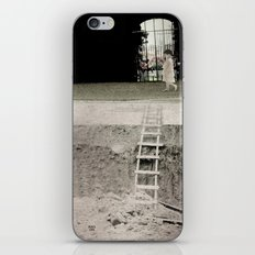 walk in silence iPhone & iPod Skin