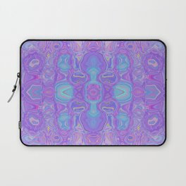 Lavender Dreams Abstract Laptop Sleeve