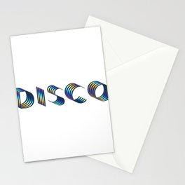 DISCO || #society6 #disco #decor Stationery Cards