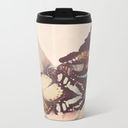 butterfly collector Metal Travel Mug