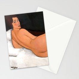 """Amedeo Modigliani """"Nu couché (sur le côté gauche)"""" Stationery Cards"""