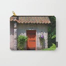 Lourdes University-  Portiuncula  Chapel Door with Clematis Carry-All Pouch