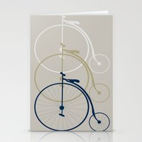 bikes Stationery Cards featuring Bikes by deugeniodesigns