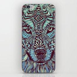Wolf (Lone) iPhone Skin