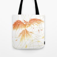 phoenix Tote Bags featuring Phoenix by ARCHIGRAF
