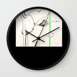 Mile's Warlock Wall Clock