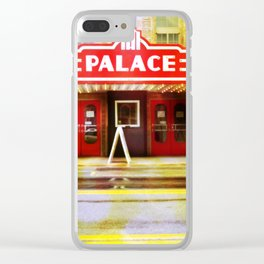 The Palace Theater Clear iPhone Case