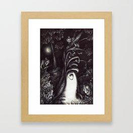 La casa degli Omini Framed Art Print