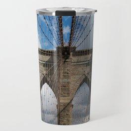new york city ... brooklyn bridge III Travel Mug