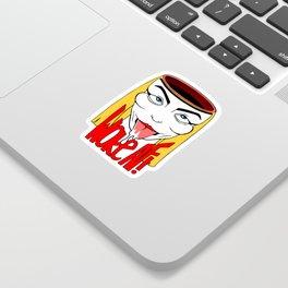 Woke AF! Sticker