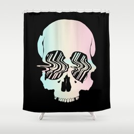 Anomaly of Existence Shower Curtain