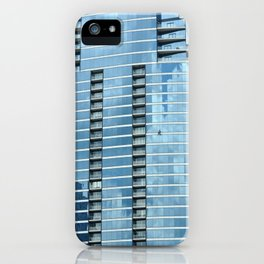 BLUE CHICAGO - CLEANING WINDOWS iPhone Case