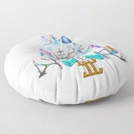 Oh Chemistry, Oh Chemist Tree Floor Pillow