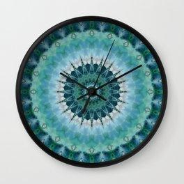 Mandala inventive genius Wall Clock